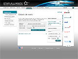 Estado de vuelos de Star Alliance